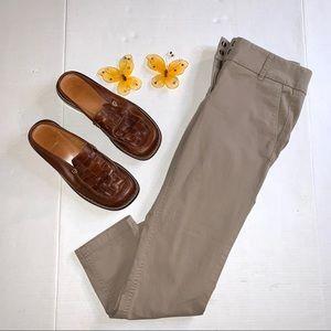 LOFT Skinny Chino Crop Petite Pants